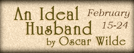 An Ideal Husband Production Graphic