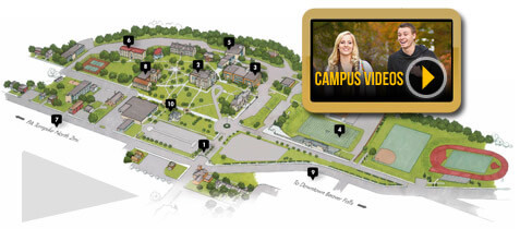 Geneva College Campus Map.Geneva College A Christian College In Pennsylvania