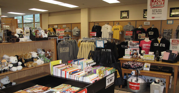 A store where they sell college apparel