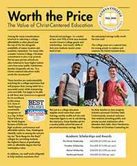 Click here to open the Worth the Price article