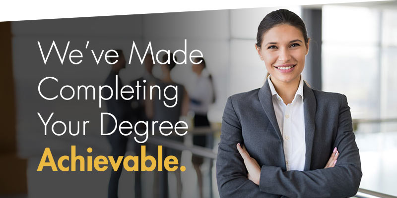 We've made completing your degree achieveable