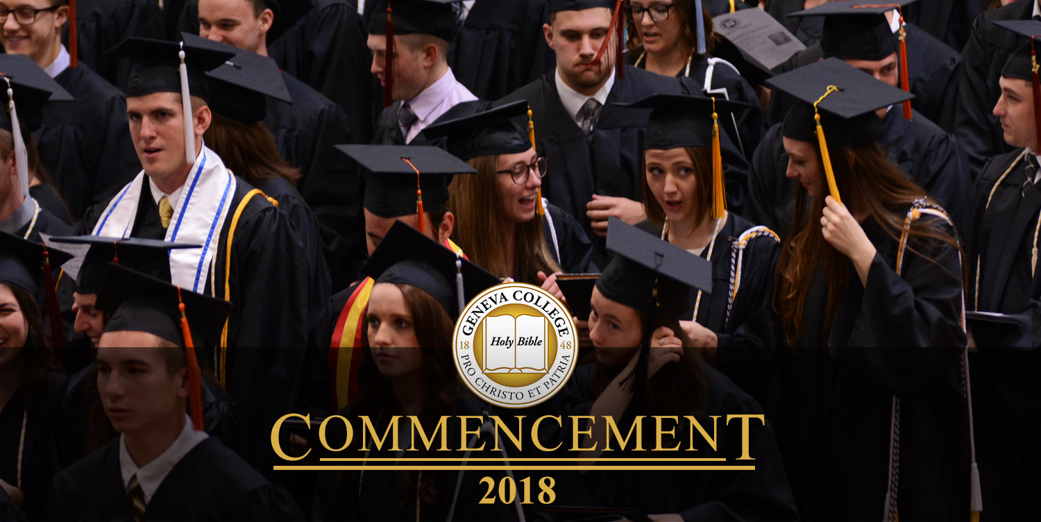 Commencement - Geneva College, a Christian College in Pennsylvania (PA)