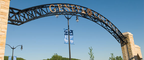 Entrance to Geneva College