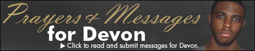 Click to read and submit messages for Devon.