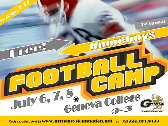 Homeboys Football Camp July 6-8, 2011