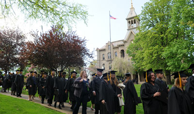 Adult and Graduate Commencement at Geneva College