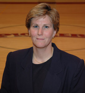 Lori Wynn is the new women's basketball coach at Geneva College.