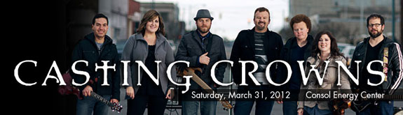 Casting Crowns at Consol Energy Center on March 31, 2012