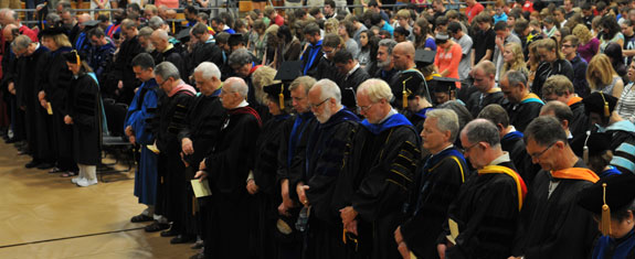 Academic Convocation at Geneva College