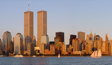 Twin Towers prior to September 11.
