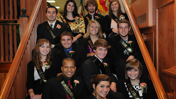 2011 Geneva College homecoming court