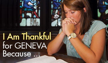 I am thankful for Geneva because...