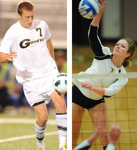 Men's Soccer and Women's Volleyball to host PAC post-season tournaments.