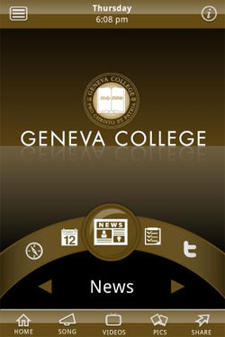 Download the new Geneva College app today!