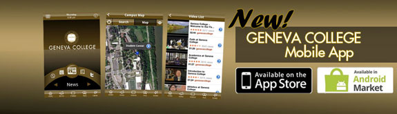 Download the Geneva College mobile app today.