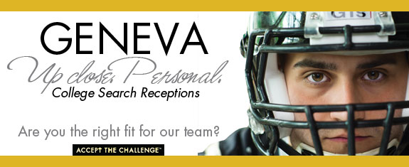 Join Geneva for the college search receptions in Philadelphia or Baltimore.