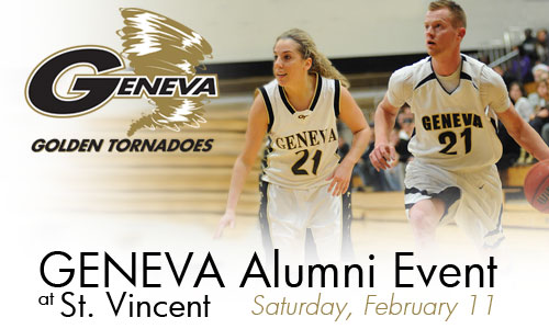 Join Geneva alumni at St. Vincent on February 11.