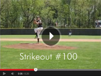 Mike Jeffreys - strikeout 100