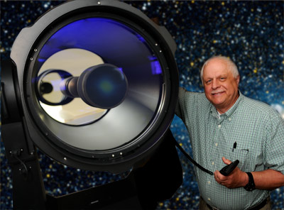 Dr. John Stein introduces the Meade RCX400 telescope