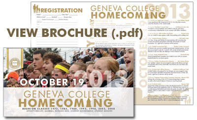 Homecoming Brochure
