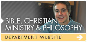 Bible, Christian Ministry & Philosophy