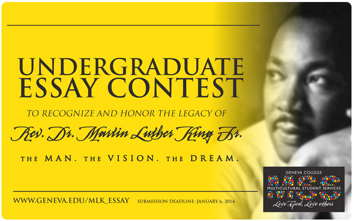 martin luther king essay contest 2013 Dr martin luther king, jr, essay contest 2013-14 theme: embracing our diversity eligible participants: all southern denton county students in grades 4 - 12.