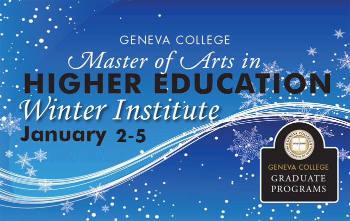 Higher Education Winter Institute