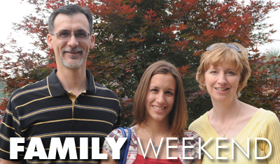 Join us for Family Weekend at Geneva on November 7-8, 2008.