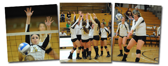 Geneva College Golden Tornados Volleyball Team