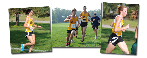Geneva College Golden Tornado Cross Country Team