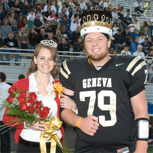 2008 Geneva College Homecoming King & Queen