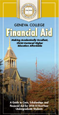 Click here to open the financial aid brochure.
