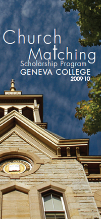 Click here to view the church matching scholarship program brochure.