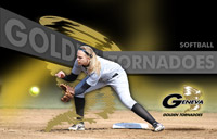 Geneva Softball Background Graphic