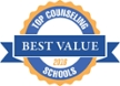 Top value counseling master's degrees in Pennsylvania