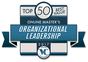 Top 50 Best Value Online Master's of Organizational Leadership for 2017