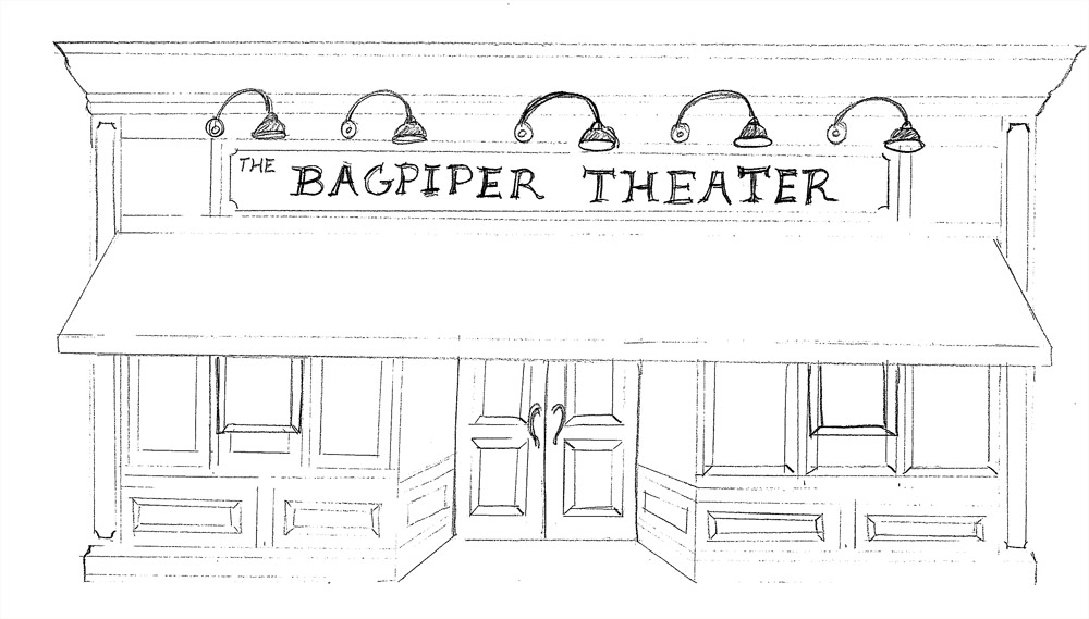Bagpiper Theater Renovation Sketch