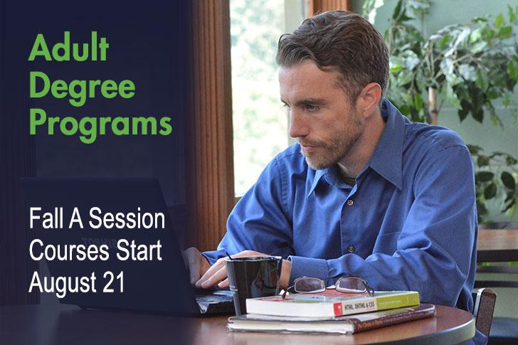 Adult degree program