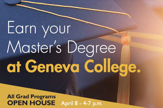 Geneva Invites Alumni, Current Students to Graduate Open House