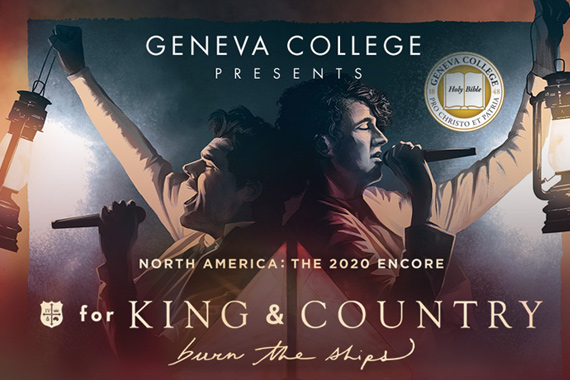 Geneva-Sponsored For King and Country Concert Rescheduled for June 9