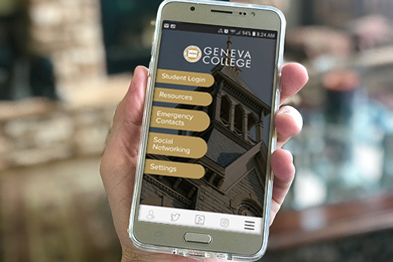 Geneva Mobile App Provides High-Impact Learning Experiences  for Computer Science Students