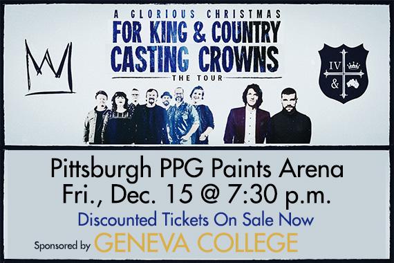 Casting Crowns Christmas.Geneva College Sponsors A Glorious Christmas Tour Geneva