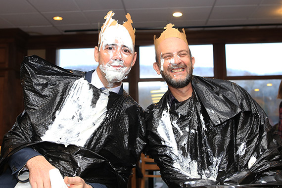 "HSV 303 Hosts ""Pie a Professor"" Fundraiser for Big Brothers Big Sisters"