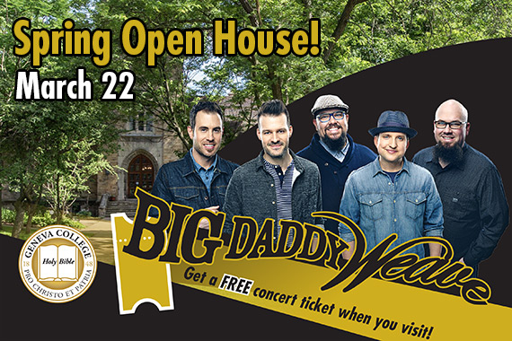 Geneva S Spring Open House Includes Big Daddy Weave Live