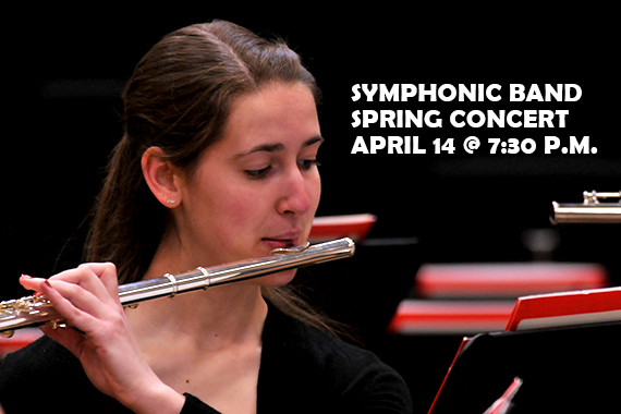 Geneva's Spring Symphonic Band Concert Scheduled