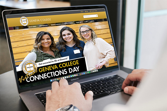 Future Students Make Connections Virtually at Geneva Connections Day