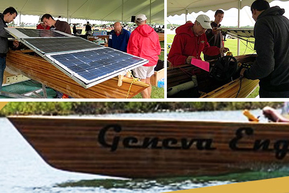 Geneva Student Engineers Advance at the Solar Splash Competition