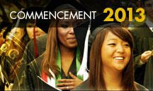 Commencement 2013