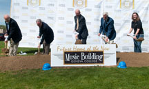 Geneva College celebrates groundbreaking for music building