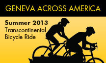 Geneva Across America is underway